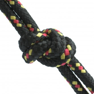 Lina polipropylenowa Pleciona 4mm czarna