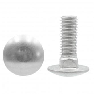 M8x160 DIN 603 A2 śruba nierdzewna zamkowa