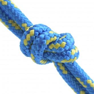 Lina polipropylenowa żeglarska 10mm niebieska
