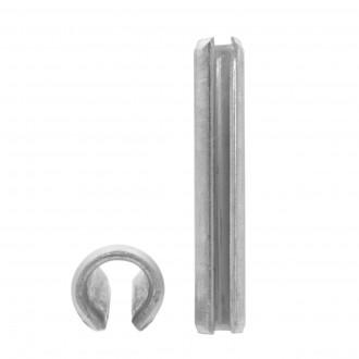 DIN 1481 6x45 A2 kołek nierdzewny sprężysty