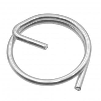 Zawleczka okrągła z przetyczką nierdzewna Ø 1,0mm