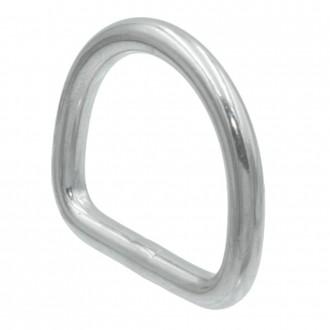 Półkółko D-ring kwasoodporny Ø 6x30mm