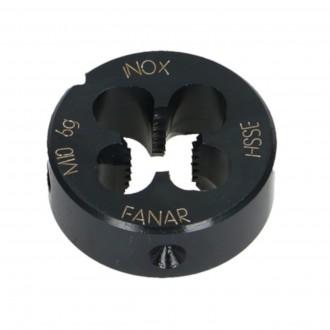 M12 Narzynka okrągła ręczna INOX Hsse