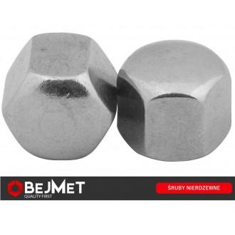 Nakrętka ślepa nierdzewna M8 DIN 917 A2
