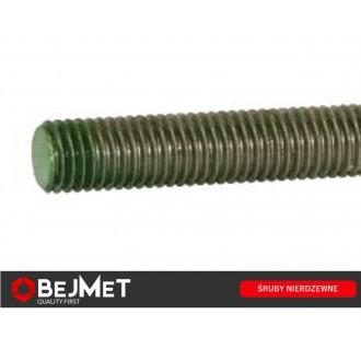 Pręt gwintowany nierdzewny DIN 975 A2 M10